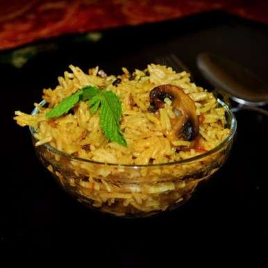 Photo of Mushroom Biryani by Balachandrika Kandaswamy at BetterButter