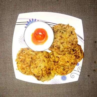 Photo of Potato pancake(eggless) by Bansi chavda at BetterButter