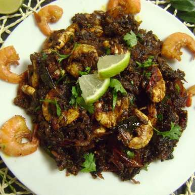 Photo of Chettinad Prawn Pepper Fry by Bethica Das at BetterButter