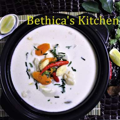 Photo of Thai Coconut Milk Soup by Bethica Das at BetterButter
