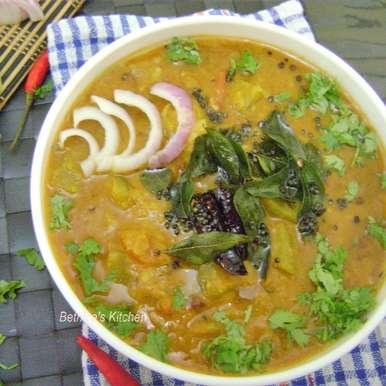 Kaddu Ka Dalcha With Tuvar Dal - Hyderabadi Style