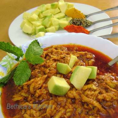 Photo of Grated Raw Mango Pickle - Bengali Style by Bethica Das at BetterButter