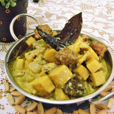 Photo of Shukto (Mixed Veg. Curry with Bitter Gourd - Bengali Style) by Bethica Das at BetterButter