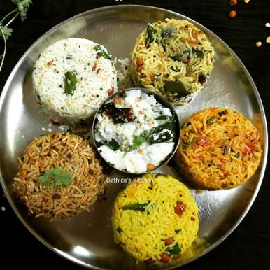 Photo of Variety Rice Platter by Bethica Das at BetterButter