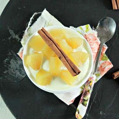 Photo of Apple Yogurt for babies (7-8 months) by BetterButter Editorial at BetterButter