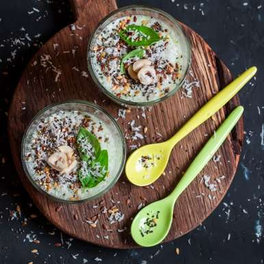 Photo of Sabja Breakfast Bowl by BetterButter Editorial at BetterButter