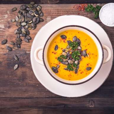 Photo of Turmeric and Pumpkin Soup by BetterButter Editorial at BetterButter
