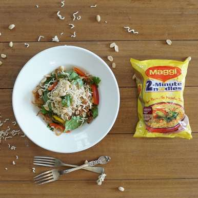 Photo of Thai Style Maggi Noodles Salad by BetterButter Editorial at BetterButter