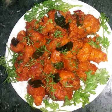 Photo of Instant Chilli Cauliflower by Bharti Kharote at BetterButter