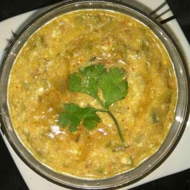 ladys finger curry recipe in Tamil,வெண்டைக்காய் பச்சடி, Bhavani Murugan
