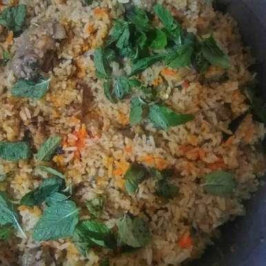 Biryani recipe in Tamil,பிரியாணி, Bhavani Murugan