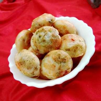 spinach snacks recipe in Tamil,கீரை பணியாரம், Bhavani Murugan