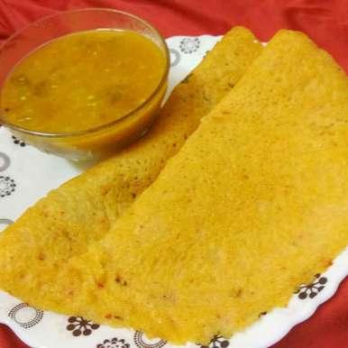 thoor dal dosa recipe in Tamil,துவரம் பருப்பு தோசை, Bhavani Murugan