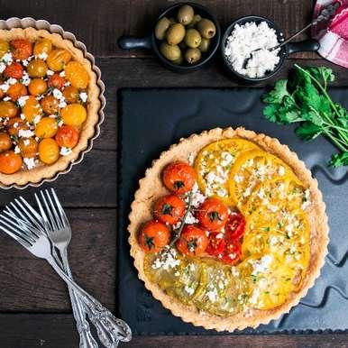 Photo of Tomato Tarts by Bhavita Singh at BetterButter