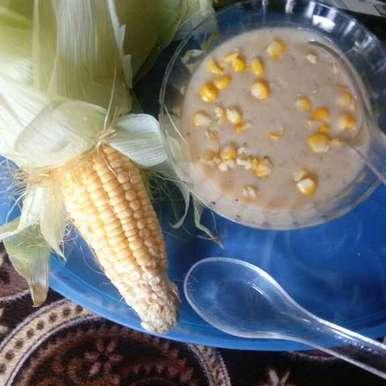 Photo of Sweet corn soop by Bhavna Nagadiya at BetterButter