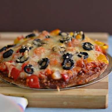 Photo of Ragi Flour/Finger Millet Flour Crust Pizza by Bhawana Singh at BetterButter