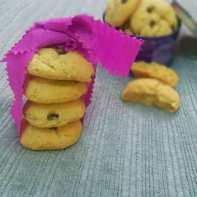 Photo of Choclate chip cookie by Bhumika Gandhi at BetterButter