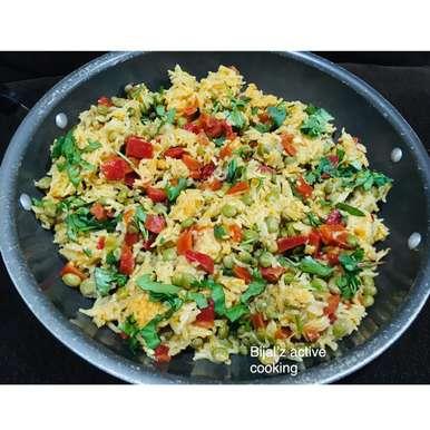 Tuver -gajar pulao (pigeon peas  & carrot pulao), How to make Tuver -gajar pulao (pigeon peas  & carrot pulao)