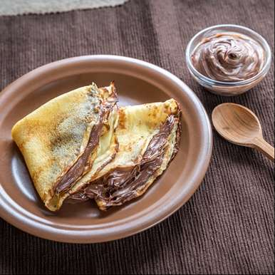 Nutella Crepes, How to make Nutella Crepes