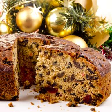 Photo of Quick Eggless Christmas Fruit Cake by Bindiya Sharma at BetterButter