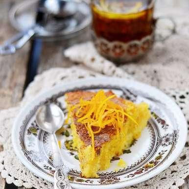 Photo of Lemon Polenta Cake~gluten free by Bindiya Sharma at BetterButter