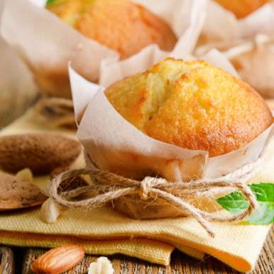 Photo of Buttery Almond Cupcakes by Bindiya Sharma at BetterButter