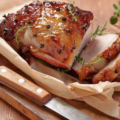 Photo of Honey glazed Ham by Bindiya Sharma at BetterButter