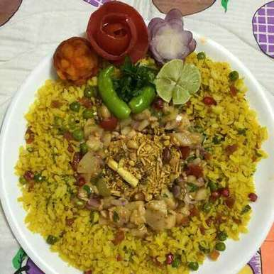 POHA IN MY STYLE, How to make POHA IN MY STYLE