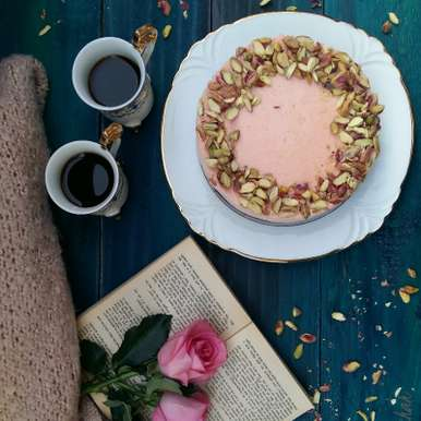 Photo of Rose and Pistachio Cheesecake by Bobby Kochar at BetterButter