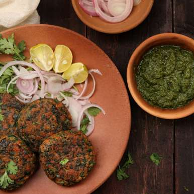 Photo of Spinach and Oats Kebabs by Bobby Kochar at BetterButter