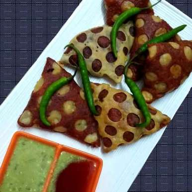 Photo of Leftover Chicken Beetroot Samosa... by brishti ghosh at BetterButter