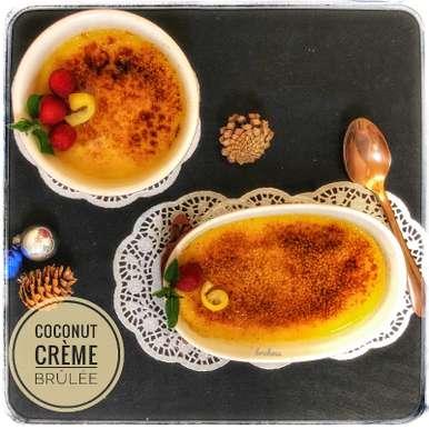 Photo of Coconut Crème brûlée by Bulbul Majumder at BetterButter