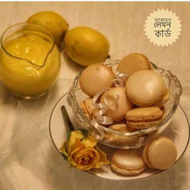 Photo of French Macaron with Lemon Card by Bulbul Majumder at BetterButter