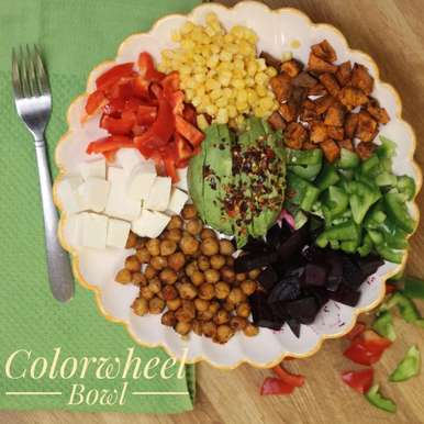 Photo of Color wheel Bowl Salad by Bulbul Majumder at BetterButter