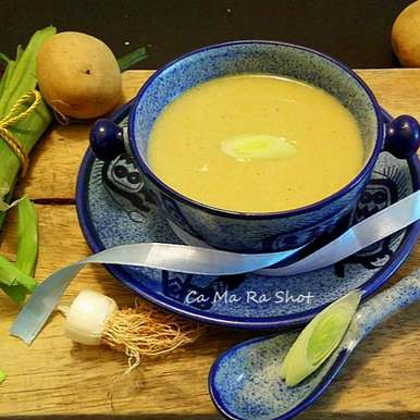 Photo of Leek and Potato Soup by Caroline Radhakrishnan at BetterButter