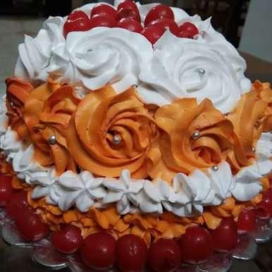 Photo of Rose Cake by Chaiti Chowdhury at BetterButter