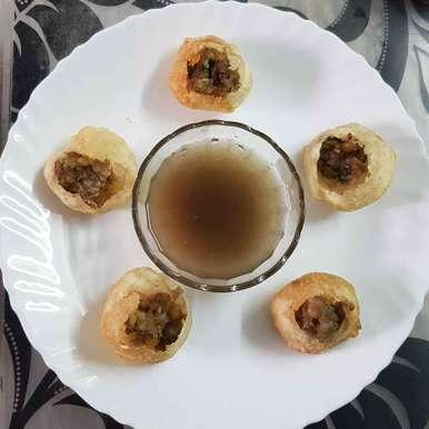 Photo of Pani puri by Chanda Shally at BetterButter