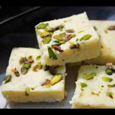 Photo of Milk powder barfi by Chandni Joshi at BetterButter