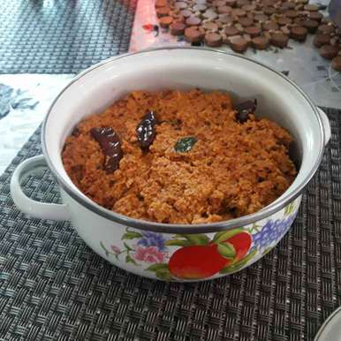 Coconut chetny recipe in Telugu,కొబ్బరి పచ్చడి, Chandrika Marripudi