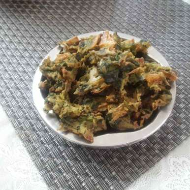 Photo of Spinach fritters  by Chandrika Marripudi at BetterButter