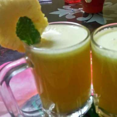 Photo of Pineapple mocktail by Chandu Pugalia at BetterButter