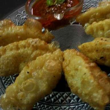 Fried momos recipe in Hindi,फ्राइड मोमोज़, Chandu Pugalia