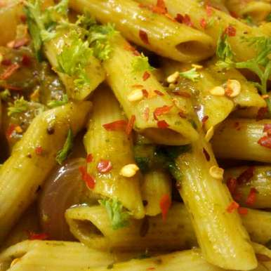 Indian style pasta, How to make Indian style pasta