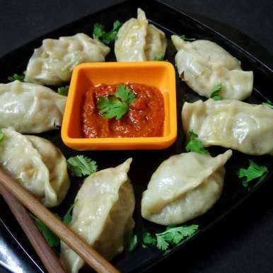 Photo of Steamed veg momos by Chandu Pugalia at BetterButter