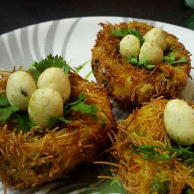 Sweet potato nest, How to make Sweet potato nest