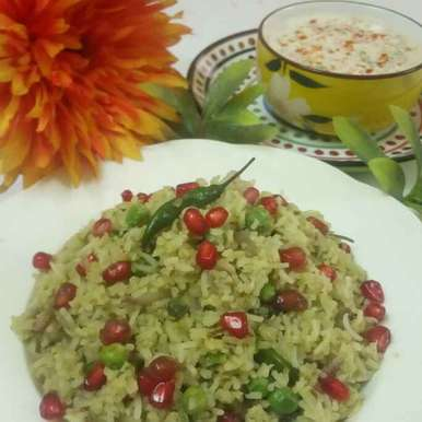 Photo of Moringa pulao with veg raita by Chandu Pugalia at BetterButter