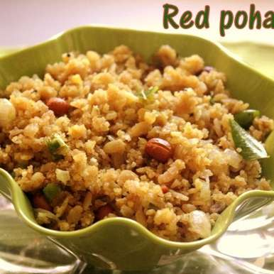 Photo of Red poha upma by Charus Cuisine at BetterButter