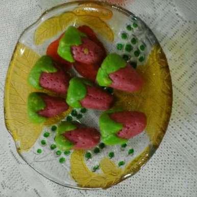 Photo of Kaju Strawberry by Chavi Gupta at BetterButter