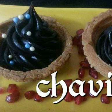 Photo of Baked eggless churros bowl with choclate frosting by Chavi Gupta at BetterButter