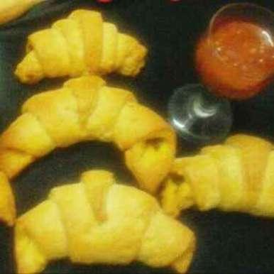 Photo of Gobhi croissants by Chavi Gupta at BetterButter